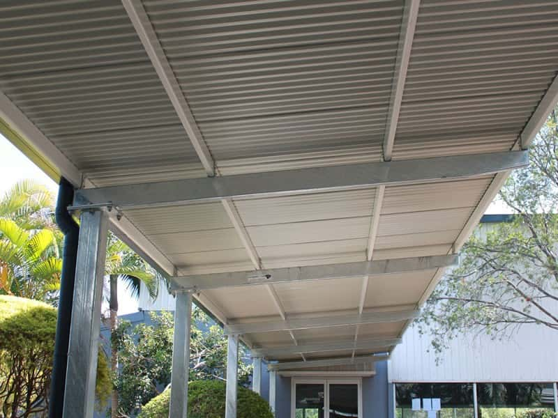 CF2 Cantilevered Covered Walkway