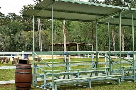 GC3.3 3 Tier Grandstand With Shade