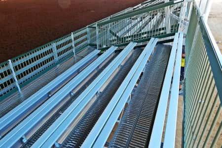 GC5R Raised Deck Arena Grandstand