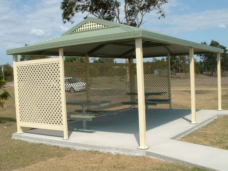 Dutch Gable Park Shelter