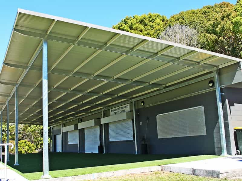 Clubhouse Shade Structure