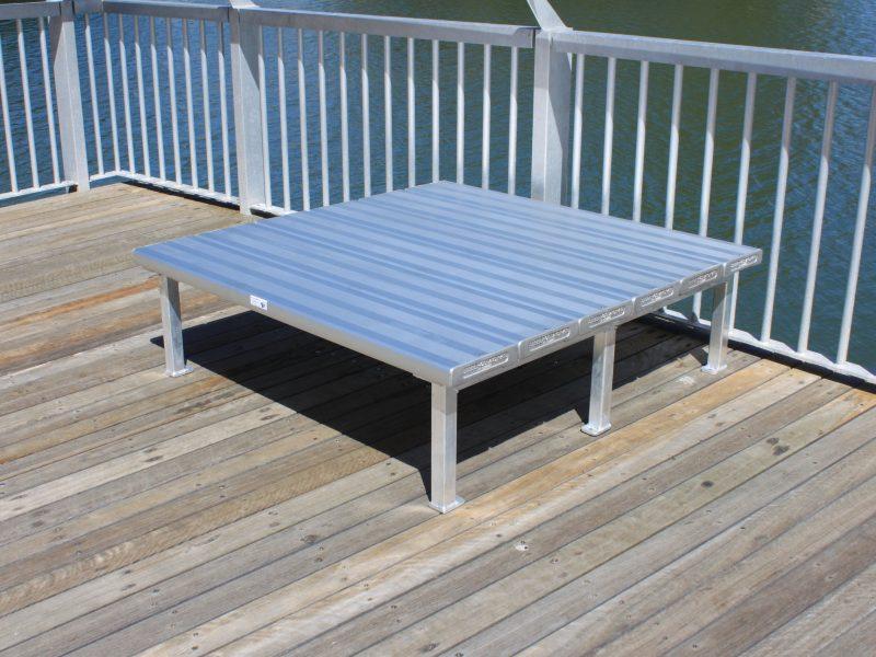 Aluminium Platform Seating
