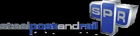 Steel post rail Logo