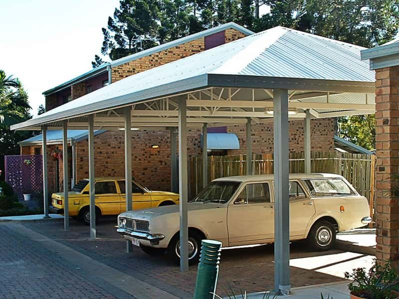 Hip Roof Carport