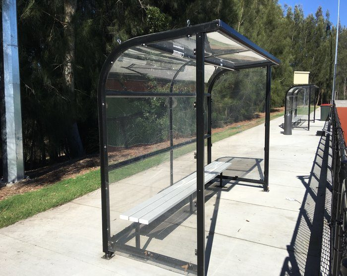 Bench Seating, Outdoor Bench Seats & Bus Shelters | Steel Post Rail