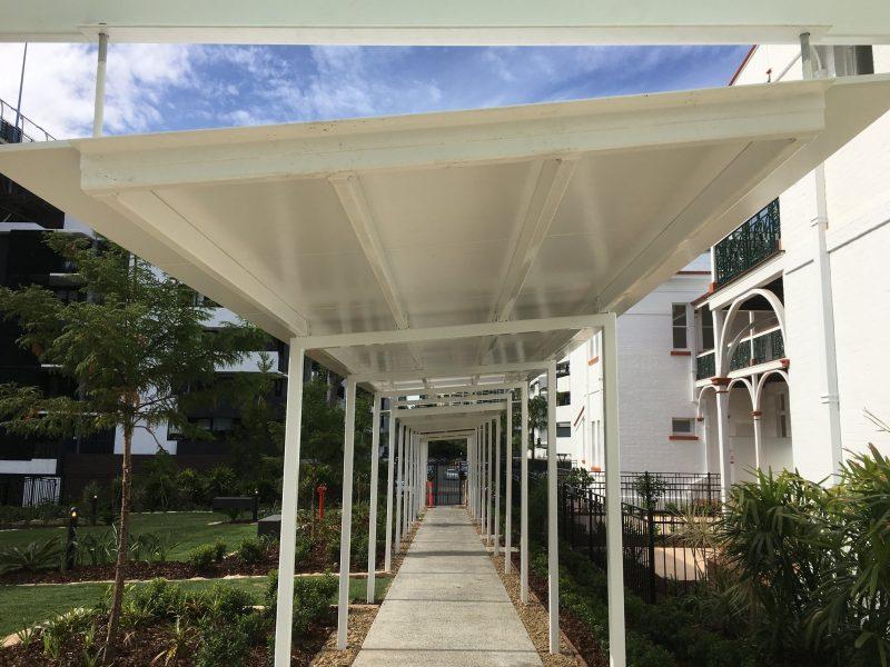 Flat Roof Walkway