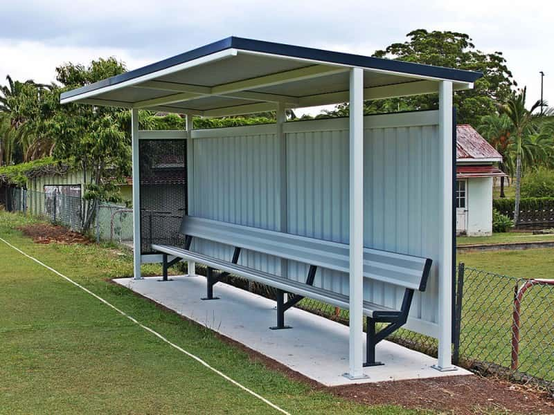 DF4 Dugout With Courtesy Seat