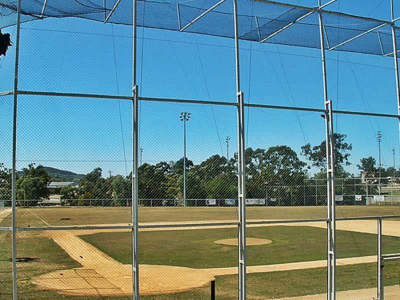 OSN1 Sportsfield Back Nets