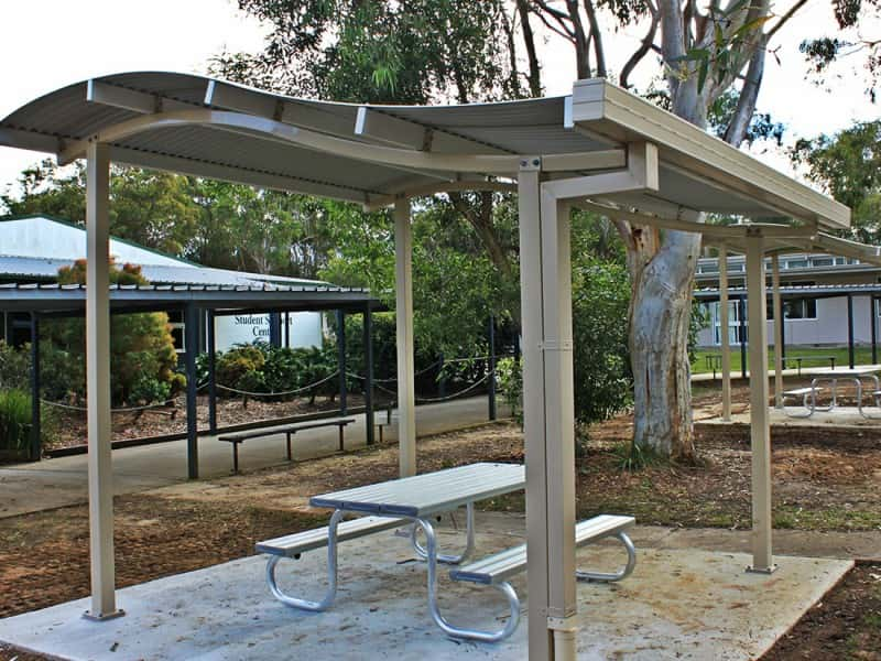 Wave Roof Picnic Shelter