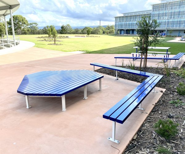 Anodised Aluminium Platform Seating & Bench Seats (2)