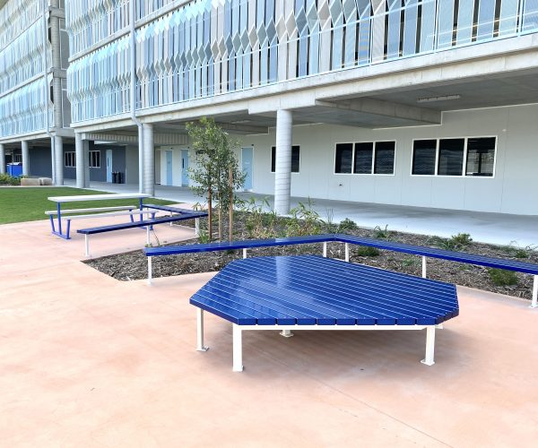 Anodised Aluminium Platform Seating & Bench Seats
