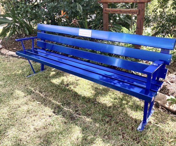 Strand Courtesy Seat - Anodised Aluminium