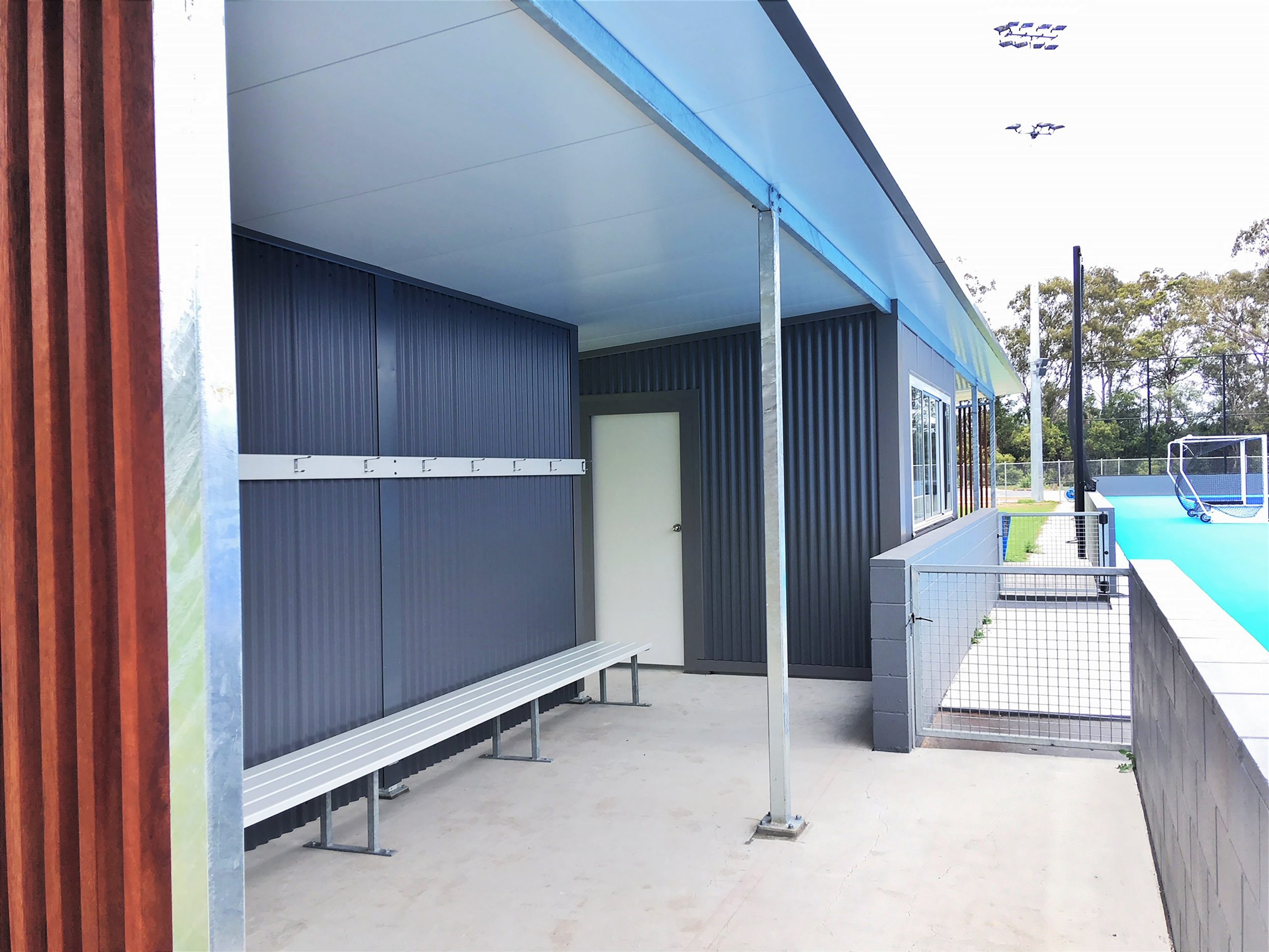 PLAYER SHELTERS & COACHES BOXES